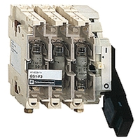 SCHNEIDER 50A 3P FUSE SWITCH