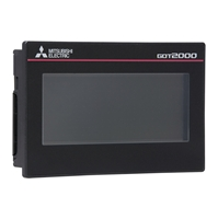"MITSUBISHI (279810) GT2000 SERIES 3.8"" TFT DISPLAY"