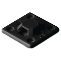 HELLERMANN BLACK BASE 19X19 (PKS OF 100)